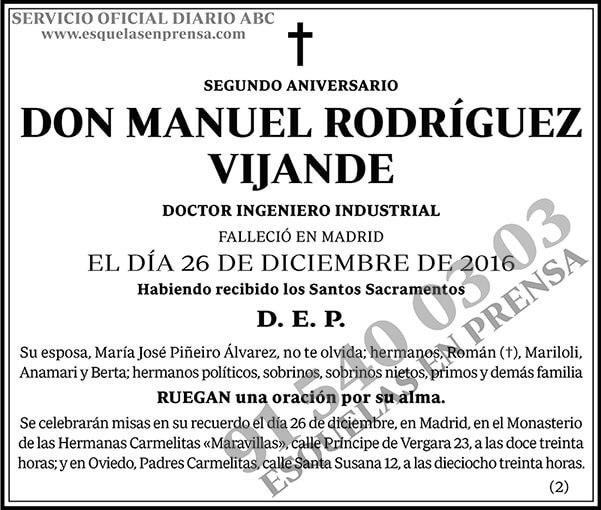 Manuel Rodríguez Vijande
